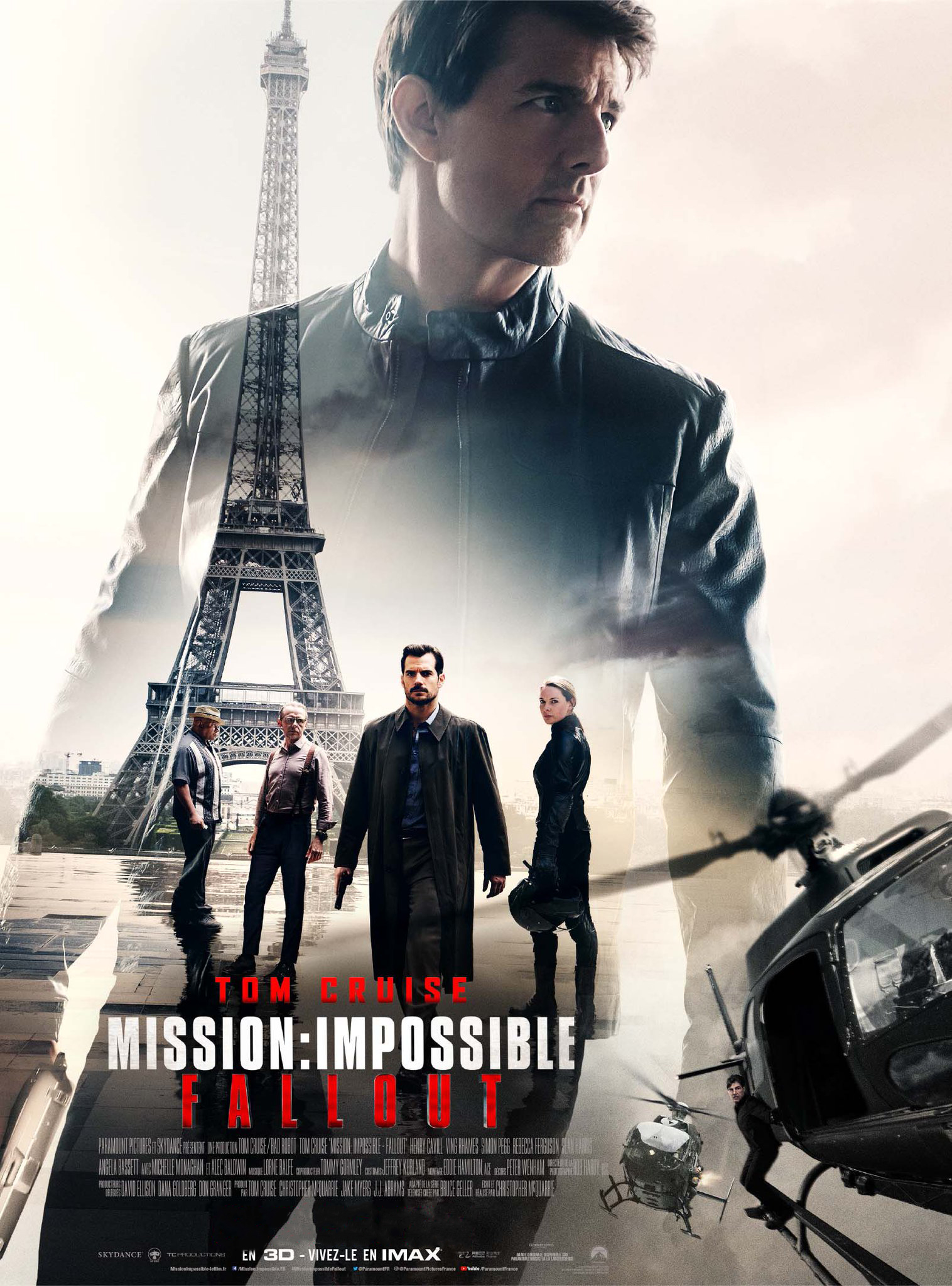 MISSION IMPOSSIBLE Fallout  (2h28)